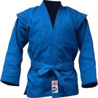 Куртка для самбо JS-303 (р. 5/180; синяя)