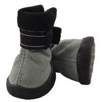 Ботинки (3,5х3,5х4,5 см; серые)