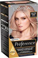 "Краска для волос ""Preference"" тон: 8.23, розовое золото"