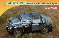 "Легкий бронеавтомобиль ""Sd.Kfz.260 Kleine Panzerfunkwagen"" (масштаб: 1/72)"