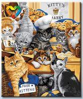 """Картина по номерам """"Котята-поварята"""" (500x600 мм; арт. HB5060012)"""
