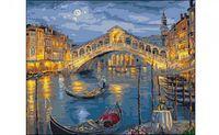 "Картина по номерам ""Венеция. Мост Риальто"" (400x500 мм)"