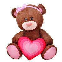 """Мягкая игрушка """"Медведь Шоколадка"""" (25 см)"""