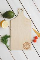 "Доска разделочная деревянная ""My Kitchen"" (180х360х6 мм)"