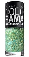 """Лак для ногтей """"Colorama"""" (тон: 334, мятное мерцание)"""