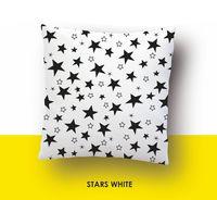 """Наволочка хлопковая """"Stars White"""" (50x70 см)"""