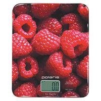 Весы кухонные Polaris PKS 0832DG (черно-красные)
