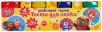 """Тесто для лепки """"Любимые герои"""" (4 цвета; арт. 450PD-CRT)"""