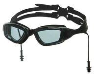 """Очки для плавания """"N9700"""" (чёрно-серые)"""