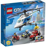 """LEGO City """"Погоня на полицейском вертолёте"""""""