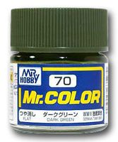 Краска Mr. Color (dark green, C70)