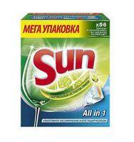 """Таблетки для посудомоечных машин """"Sun. Лимон"""" (56 шт.)"""