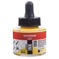 """Акриловые чернила """"Amsterdam Ink"""" (30 мл; желтые неаполитанские насыщенные)"""