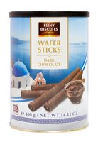 """Трубочки вафельные """"Feiny Biscuits. С темным шоколадом"""" (400 г)"""