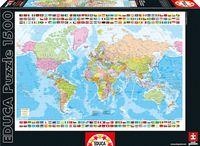 """Пазл """"Карта мира"""" (1500 элементов)"""