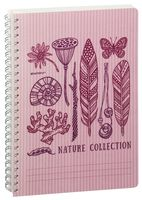 "Тетрадь в клетку ""Nature Collection"" (72 листа; сиреневая)"