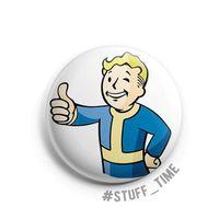"Значок маленький ""Fallout"" (арт. 109)"