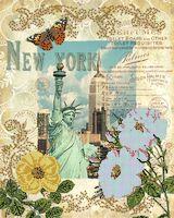 """Вышивка бисером """"Вокруг света. Нью Йорк"""" (400х320 мм)"""