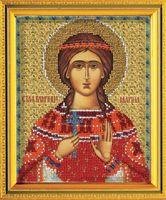 "Вышивка бисером ""Св. Марина"" (120х145 мм)"