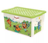 """Ящик для хранения игрушек """"Три кота. Забава"""" (арт. LA1627)"""