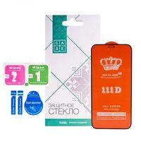 Защитное стекло Case 111D для iPhone 12 и 12 Pro (черный)