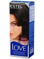 """Крем-краска для волос """"Love Intense"""" (тон: 1.0, черный)"""