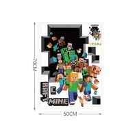 Наклейка на стену Minecraft Family Sticker (50х70 см)