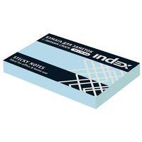 Бумага для заметок (светло-голубая; 51х75 мм)