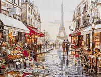 """Картина по номерам """"Люблю тебя! Париж!"""" (300х400 мм; арт. PC3040060)"""