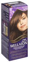 """Крем-краска для волос """"Wellaton"""" тон: 6/77, горький шоколад"""