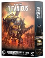 Warhammer 40.000. Adeptus Titanicus. Warbringer Nemesis Titan (400-34)