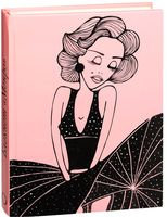 """Блокнот """"Мерилин Монро"""" (А5; розовый)"""