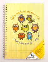 """Тетрадь в линейку """"7 Owls"""" (72 листа; оранжевая)"""