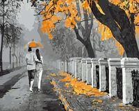 "Картина по номерам ""Осенняя прогулка"" (400х500 мм; арт. GX8274)"