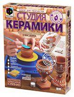 """Набор для лепки из глины """"Студия керамики. Фужеры"""""""