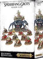 Warhammer Age of Sigmar. Spiderfang Grots. Venom Clan (89-32)