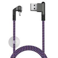 Кабель Olmio X-Game Neo (черно-фиолетовый)
