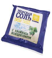 """Соль для ванн """"Морская природная с хвойным концентратом"""" (1 кг)"""