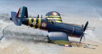 """Истребитель """"F4 U-7 Corsair"""" (масштаб: 1/72)"""