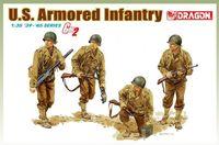 """Набор миниатюр """"U.S. Armored Infantry"""" (масштаб: 1/35)"""