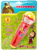 """Музыкальная игрушка """"Микрофон. Маша и Медведь"""""""