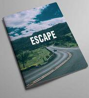 """Обложка на паспорт """"Escape"""""""