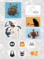 """Набор наклеек """"Studio Ghibli"""""""