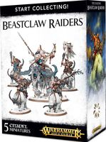 Warhammer Age of Sigmar. Beastclaw Raiders. Start Collecting (70-86)