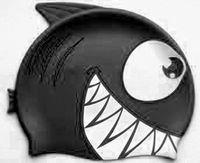 Шапочка для плавания FC202 (чёрная)