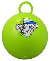 """Мяч-попрыгун """"Тигрёнок"""" (55 см; с ручкой; зелёный)"""