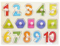 "Рамка-вкладыш ""Цифры с геометрическими фигурами"""