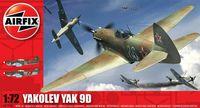 """Истребитель """"Yak 9d"""" (масштаб: 1/72)"""