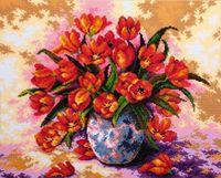 "Алмазная вышивка-мозаика ""Тюльпаны в вазе"""
