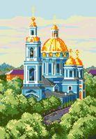 """Алмазная вышивка-мозаика """"Елоховская церковь"""""""